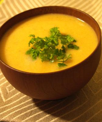 soupe de cerfeuil © cocineraloca.fr