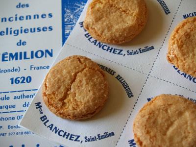 Les vrais macarons de Saint Emilion