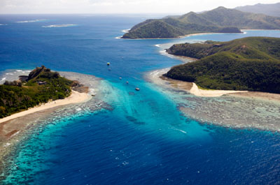 une île aux Fidji ©office de tourisme de Fidji