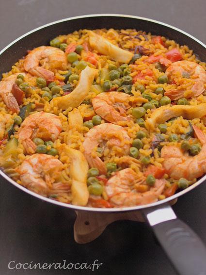 Riz l 39 espagnole et piq re de rappel la cocinera loca - La cuisine en espagnol ...