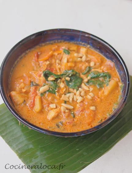Soupe sénégalaise aux cacahuètes ©cocineraloca.fr