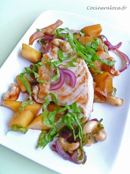 poulet oseille mangue ©cocineraloca.fr