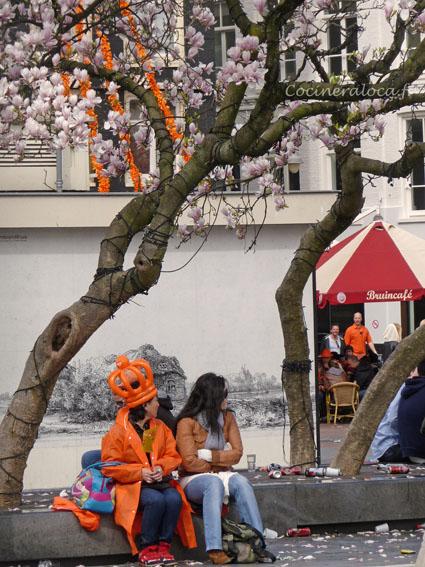 sous le cerisier du japon ©cocineraloca.fr