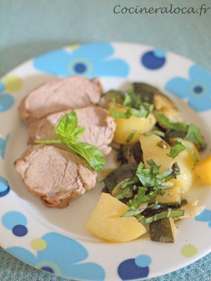 Filet mignon au basilic ©cocineraloca.fr