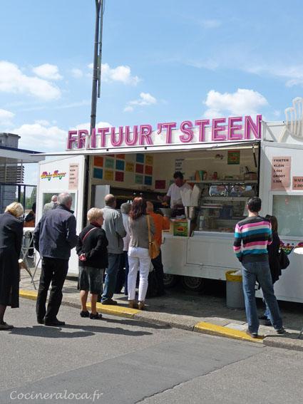 friterie à Anvers  ©cocineraloca.fr
