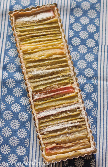 tarte à la rhubarbe 2 ©cocineraloca.fr