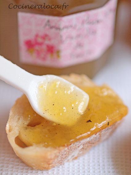 Confiture d'ananas rhum vieux vanille de Tahiti ©cocineraloca.fr