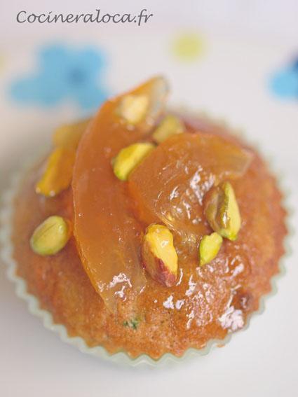 Gâteau à la pistache et cédrat confit ©cocineraloca.fr