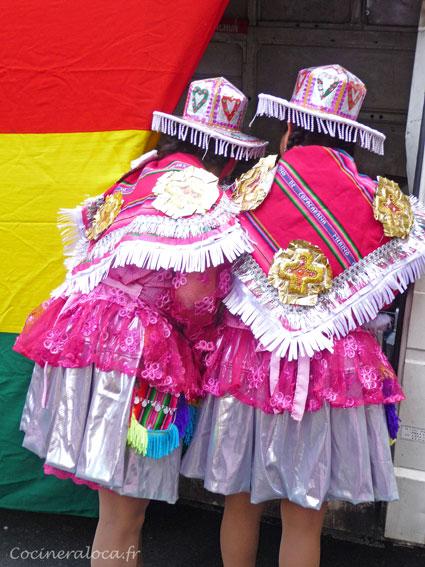 boliviennes de dos carnaval-2014 ©cocineraloca.fr