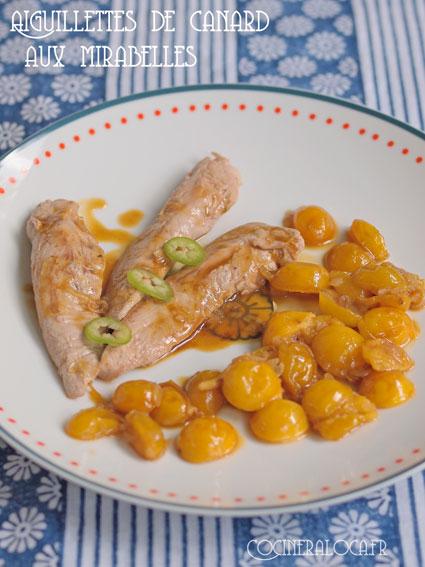 canard aux mirabelles ©cocineraloca.fr