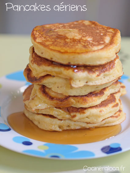 Pancakes ©cocineraloca.fr