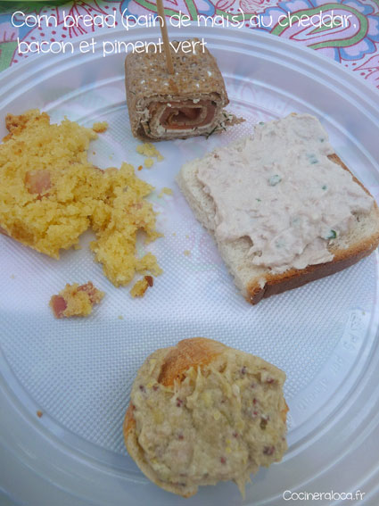 Corn bread pain au maïs cheddar bacon 2 ©cocineraloca.fr