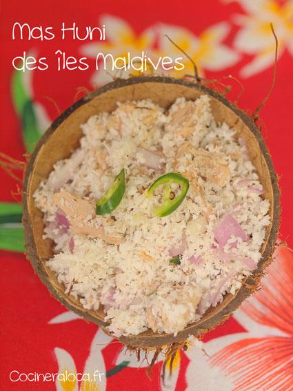 Mas Huni des îles Maldives ©cocineraloca.fr