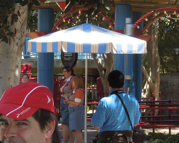 Patio Umbrella and Shade Structure Ideas from Disneyland
