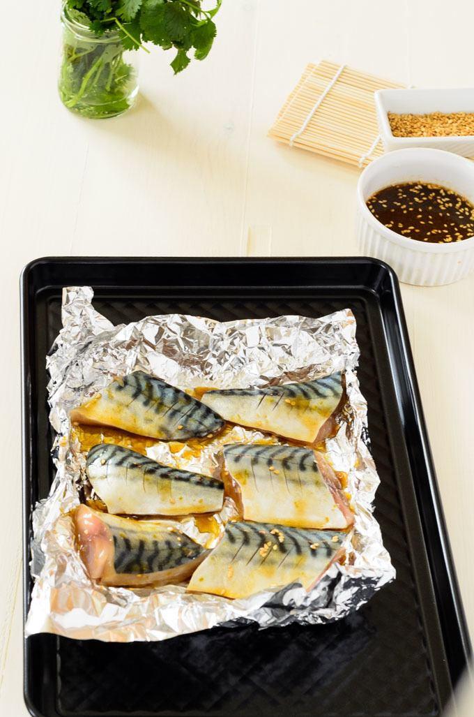 cooking mackerel