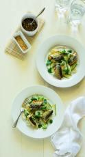 warm mackerel salad