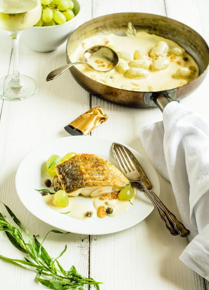 how to make cod veronique