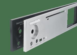 Cocktailaudio X30 Front Aluminiumplatte
