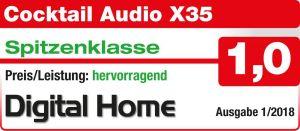 DigitalHome 1 2018 CocktailAudio X35