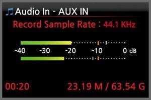 Cocktailaudio X30 Aufnahme in HD Qualität (hier CD)