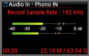 CocktailAudio X40 Phono Aussteuerung