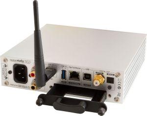 N15D Rückseite silber mit Antenne HDD slot offen