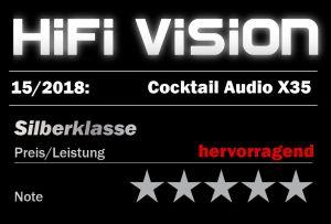 hifi vision test cocktailAudio X35