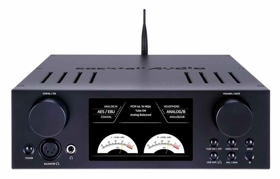 CocktailAudio HA500H Kopfhörerverstärker Röhre/Transistor