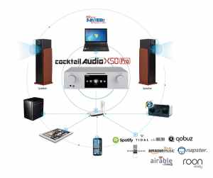 CocktailAudio X50Pro Vernetzung