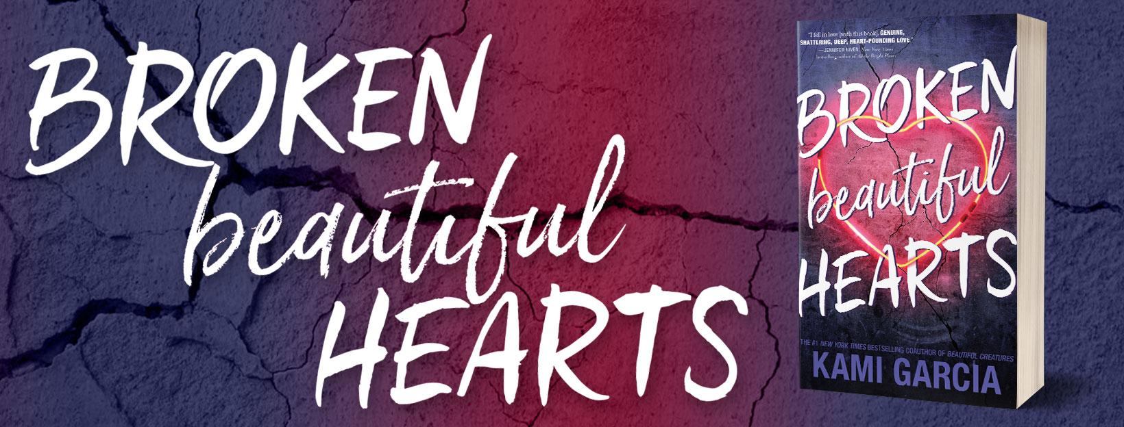 Blog Tour Review:  Beautiful Broken Hearts by Kami Garcia