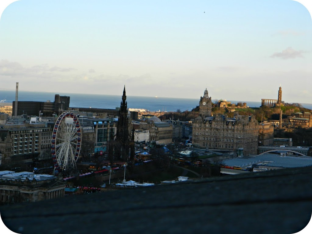 552a1583758 Probably the first thing people think of when they hear Edinburgh is the  castle. Built on top of an extinct volcano and can be seen from most  places