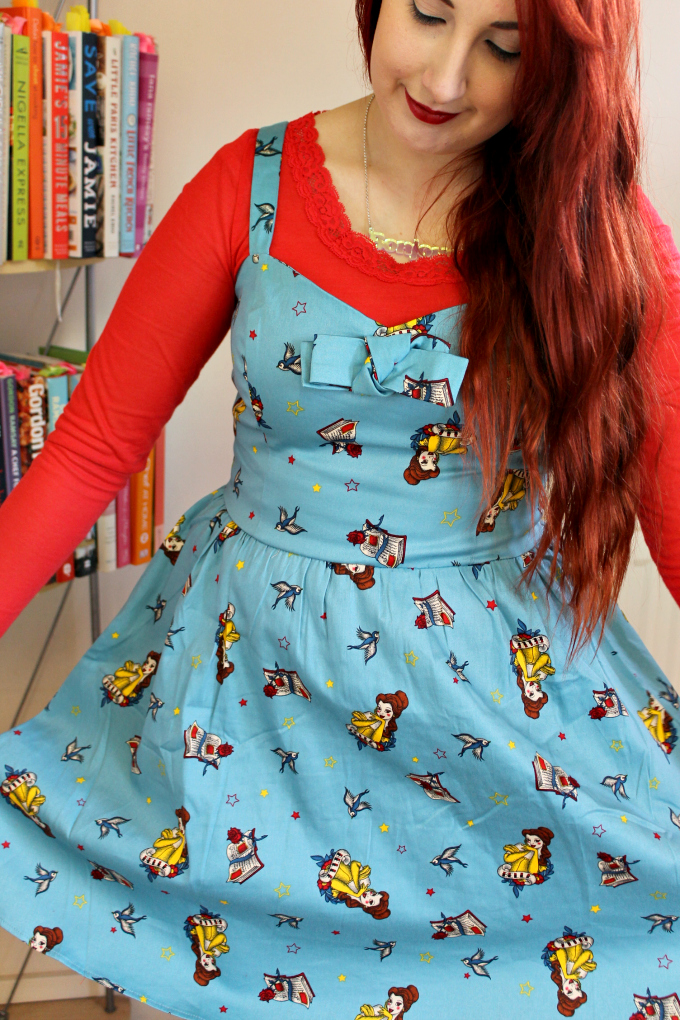 Cocktails in Teacups Fashion Blog Belle Dress Hot Topic 3