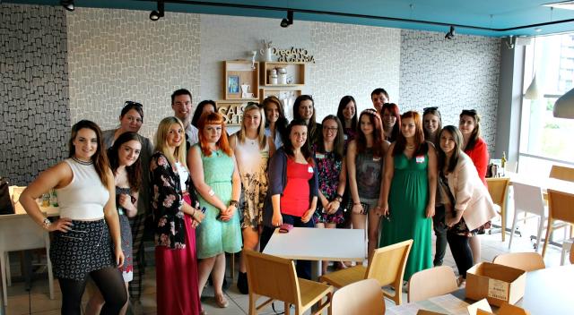 Cocktails in Teacups Lincs Blog Meet June 21st 2014  Group Shot