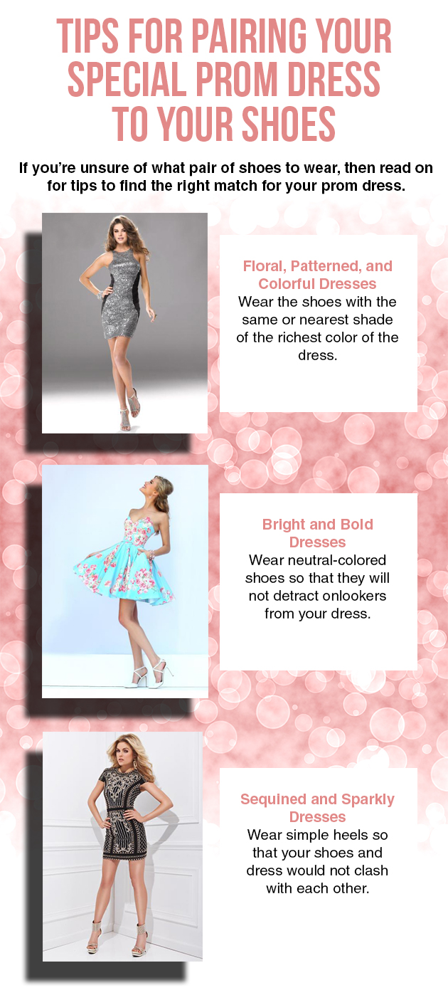 Tips For Pairing Your Special Prom Dress To Your Shoes