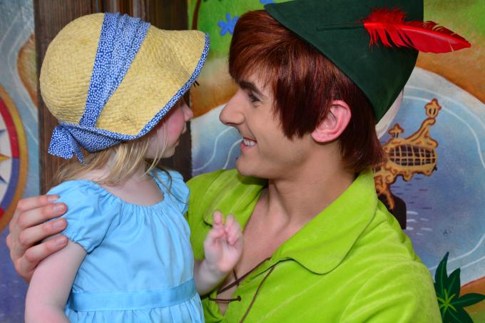 Cocktails in Teacups Walt Disney World Holiday April 2015 Magic Kingdom Peter Pan