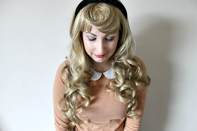 Cocktails in Teacups Annabelle Wigs Review Briar Rose Disney Cosplay Sleeping Beauty