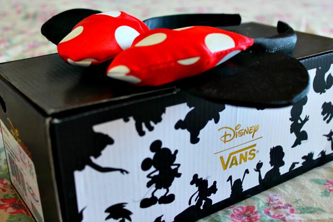Cocktails in Teacups Disney x Vans box