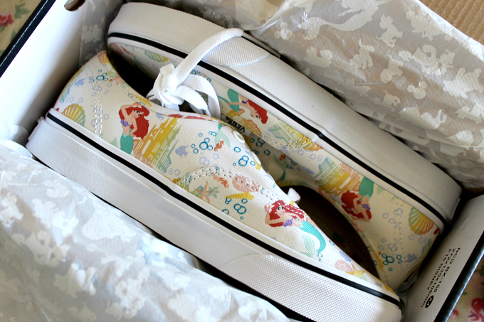 Cocktails in Teacups Disney x Vans collaboration The Little Mermaid Canvas Lace Ups