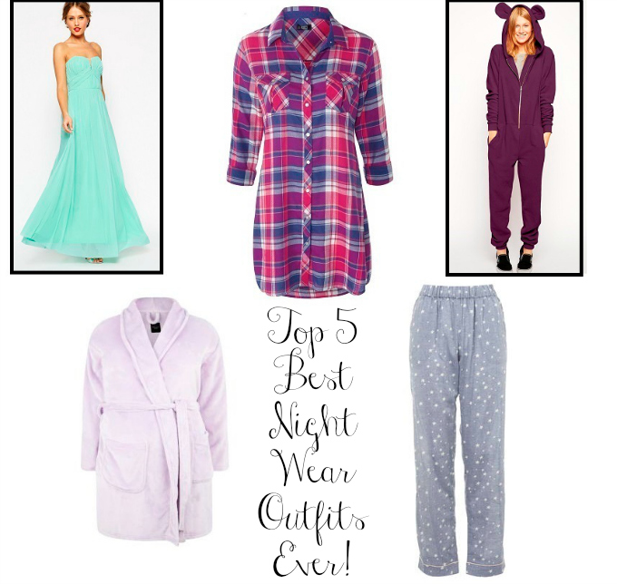 Top 5 Best Night Wear Outfits Ever