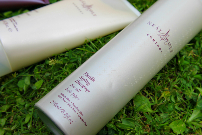 Neal & Wolf Summer Solstice Gift Set Review Flexible Styling Hairspray Control