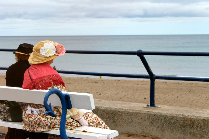 Cocktails in Teacups Local Seaside Festival Lifestyle Blogger North East Blogger Period Clothing