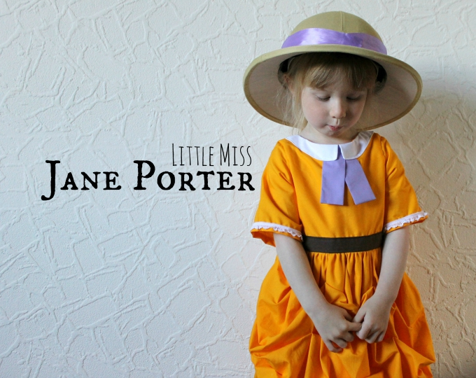 Little Jane Porter Tarzan Cosplay blog