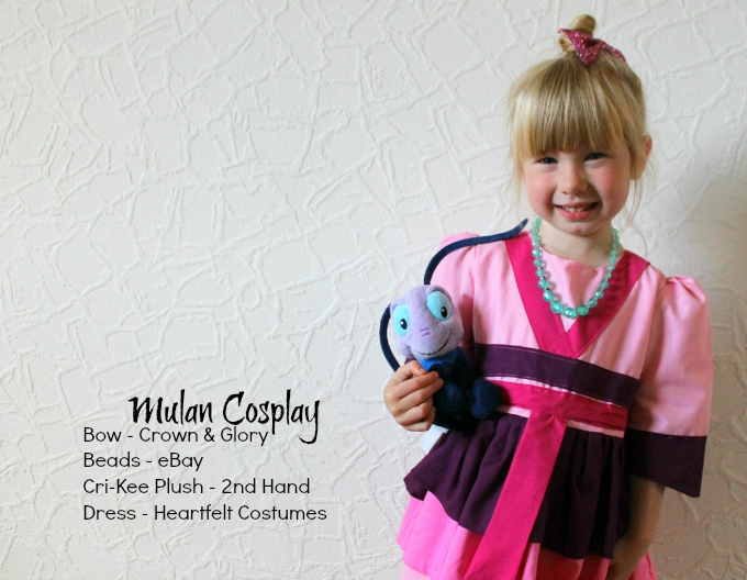 Mulan Child Disney Kids Costume blog