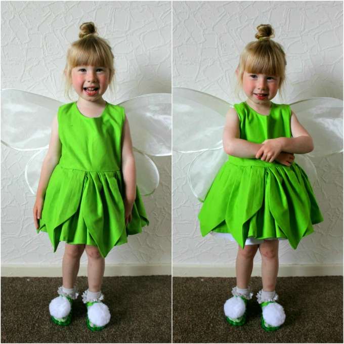 Toddler Cosplay Disney Tinkerbell blog