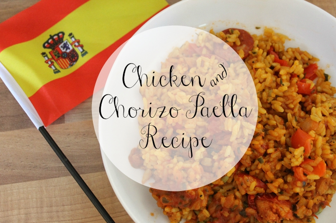 Cocktails in Teacups Food Blogger Chicken & Chorizo Paella Recipe
