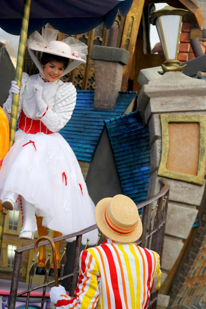Cocktails in Teacups Disney Life Parenting Travel Blog Disneyland Paris Disney Magic on Parade Mary and Bert