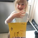 Livvy made a kite today with Nanny while I wenthellip