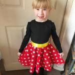 Rocking the spots like Minnie Mouse for childreninneed  hellip