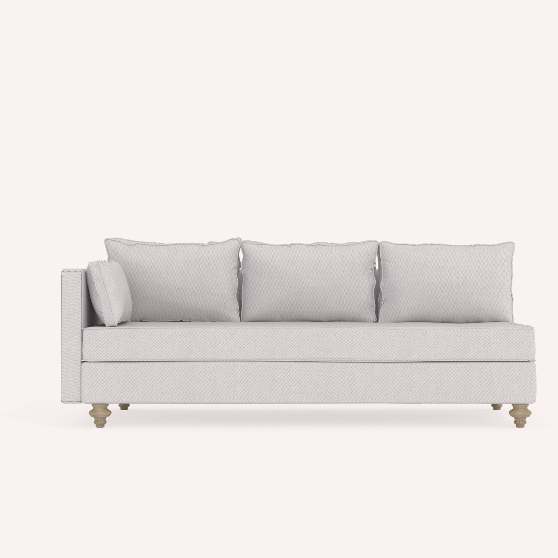 one arm sofa name salvation army pickup 3 seat myrsini with coco mat