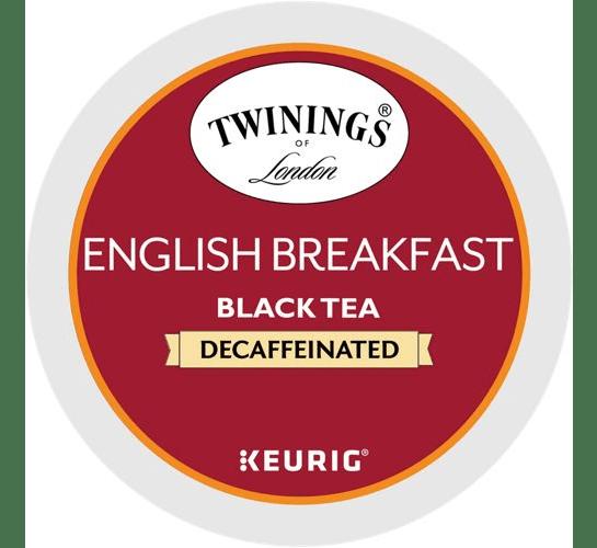 English Breakfast Decaf Tea From Twinings